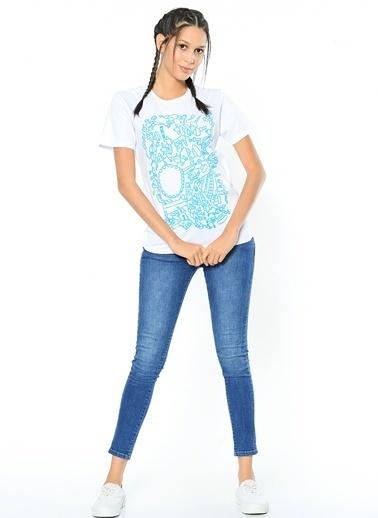 Tohum Otizm Vakfı Tişört Mavi